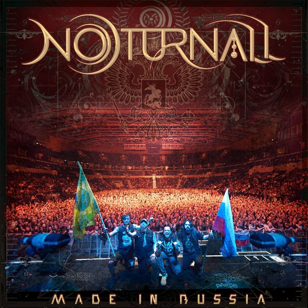 Capa do dvd MADE IN RUSSIA do Noturnall